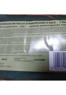 Польский суточный сухпаек S-RG-6