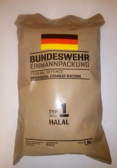 Немецкий сухпаек Bundeswehr EPA Neu HALAL